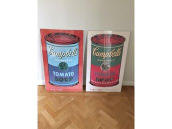 "Andy Warhol ""soup cans"" tavlor"