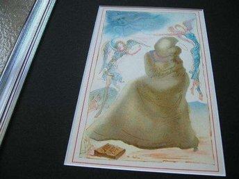Salvador Dali, C/09-Silber: Die Engel, Inramad limiterad orig repro år 1946 - Huddinge - Salvador Dali, C/09-Silber: Die Engel, Inramad limiterad orig repro år 1946 - Huddinge