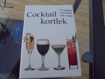 COCKTAIL KORTLEK MED RECEPT