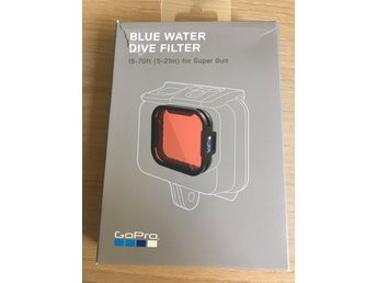 Blue Water Dive Filter till Gopro Supersuit