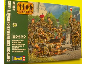 MODERN GERMAN ARMY CRISIS REACTION FORCES       Revell  1/72 Byggsats