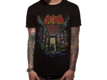 BATMAN - VILLIANS (UNISEX)  T-Shirt - Large