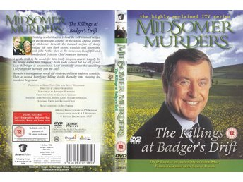Midsomer Murders The Killings at Badger's Drift 1997 DVD
