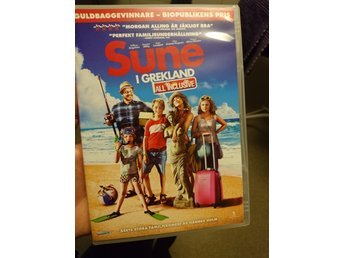 dvd. Sune i Grekland, all inclusive. Ny.