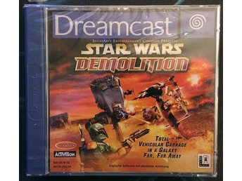 Star Wars: Demolition (Dreamcast NYTT! PAL)