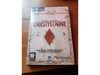 Knights of the nine expansion pack for oblivion Pc spel