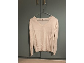 Uniqlo Cotton/Cashmere V-neck i L