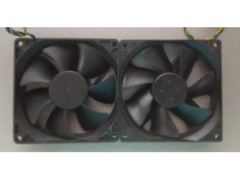 2 * 90mm High Performance fan