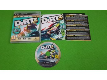 Dirt 3 Complete Edition Playstation 3 PS3