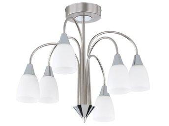 vidaXL LED Taklampa med 3 lampor varmvit (354686996) ᐈ