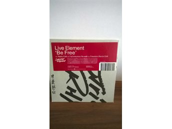Live Element - Be Free, single CD
