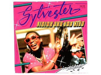 Sylvester - Living For The City 134.739 Singel 1986