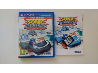 PlayStation Vita: Sonic & Allstars Racing Transformed Limited Edition