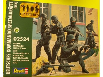 GERMAN COMMANDO SPECIAL FORCES (KSK)       Revell  1/72 Byggsats