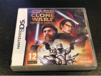 Nintendo DS Star Wars the Clone Wars