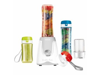 SENCOR   Smoothie Mixer med 2 flaskor 0,6l ok 1 flaska 0,3l
