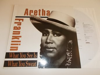 ARETHA FRANKLIN - What you see is what you sweat, LP Arista 1991 Tyskland
