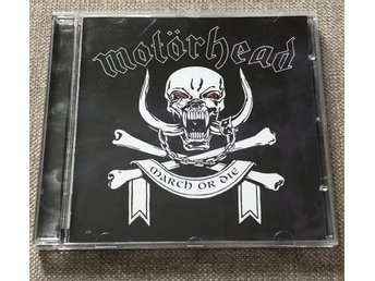 Motörhead March or Die cd Lemmy Phil Metal