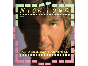 NICK LOWE - THE ABOMINABLE SHOWMAN. LP