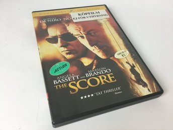 DVD - The Score - Action/Thriller - 2001 - svensk undertext