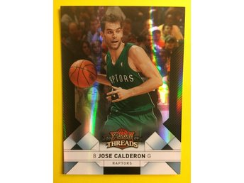 JOSE CALDERON: 2009-10 Panini Threads Century Proof Platinum #72 25ex
