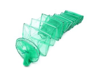 3.2m Long Tube Nylon Mesh Crab Crayfish Lobster Shrimp Pr...