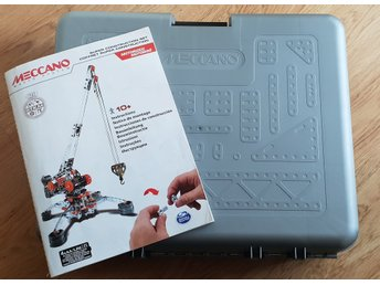 Meccano Super Construction Set, 25 modeller med väska, fri frakt!