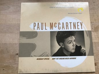 "PAUL McCARTNEY - ONCE UPON A LONG AGO 12"" 1987"