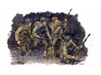 Dragon U.S.Rangers (Normandy 1944) 1/35