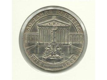 austria 50 schilling, 1968 The Republic - Geraardsbergen - austria 50 schilling, 1968 The Republic - Geraardsbergen