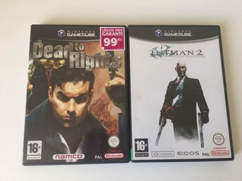 Delad to Righta & Hitman 2 - Gamecube - Svenksålt