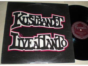 Kustbandet LP Live At Tanto 1976 M-