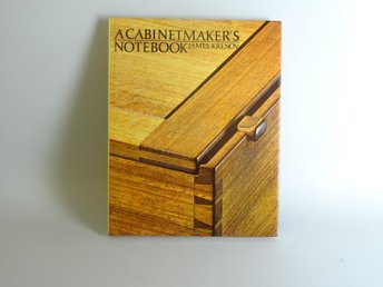 A cabinetmakers nootbook