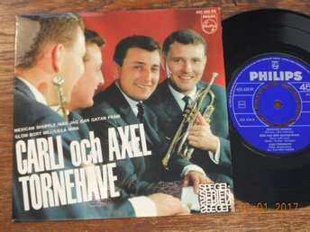 "CARLI och AXEL TORNEHAVE - Mexican Shuffle +3, 7"" EP Philips"
