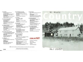 Mr Music Country 1-2002 - Höganäs - Mr Music Country 1-2002 - Höganäs
