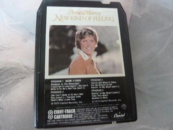 ANNE MURRAY, NEW KIND OF FEELING,  KASSETTBAND, 8-TRACK