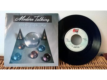 Modern Talking - Cheri, Cheri Lady - 7'' vinyl Mega Records VG++++