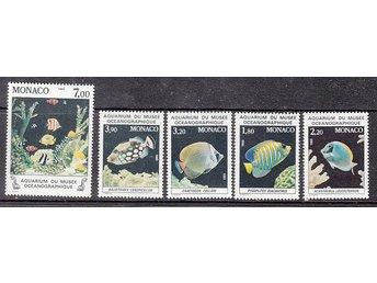 Monaco 1985. Mi. nr: 1704-08 ** Vackra fiskar - Njurunda - Monaco 1985. Mi. nr: 1704-08 ** Vackra fiskar - Njurunda