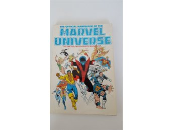 Official Handbook of the Marvel Universe Vol. 5- Marvel Comics - Sköndal - Official Handbook of the Marvel Universe Vol. 5- Marvel Comics - Sköndal