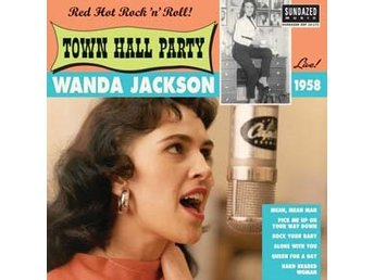 "Jackson Wanda: Live At Town Hall Party (Vinyl 10"") - Nossebro - Jackson Wanda: Live At Town Hall Party (Vinyl 10"") - Nossebro"