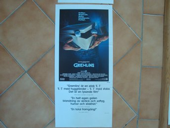 GREMLINS 30x70 1984 Zach Galligan