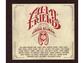 All My Friends - Celebrating The Songs & Voice Of Gregg Allman - 2 CD + 1 DVD