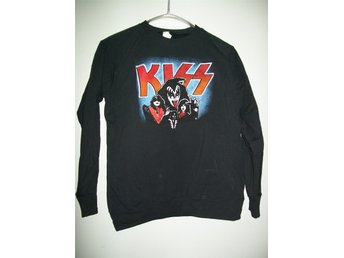 KISS TRÖJA xl/sweatshirt/rock/hårdrock/retro/glam