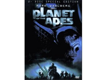 Planet of the Apes 01 Tim Burton med Mark Wahlberg, Tim Roth KANON 2DVD SE OOP
