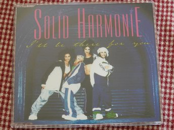 Solid Harmonie - I'll be there for you CD Single 1997 Trance