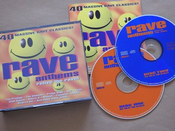 Rave Anthems - Relive The Rave! Bizarre Inc SL2 Altern 8 Prodigy Shamen Liquid