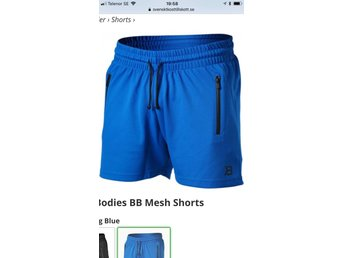 Nya shorts fr Better Bodies stlk L strong blue