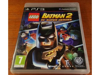 Lego Batman 2 DC Super Heroes - Komplett - PS3 / Playstation 3