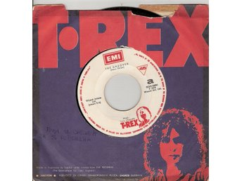 T. Rex – The Groover – YUGOSLAVIAN  ISSUE VINYL 45 – Marc Bolan