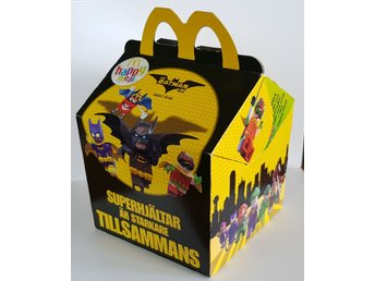 Lego Batman McDonalds Happy Meal kartong